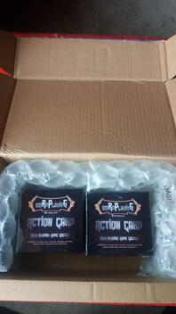 Two woRdPlayinG game boxes shipped together in box.
